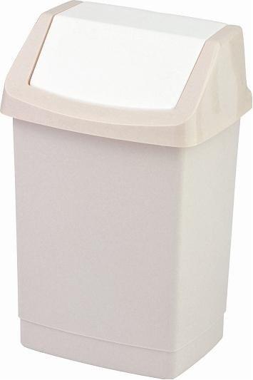Kosz na śmieci Click-It 25L beżowy