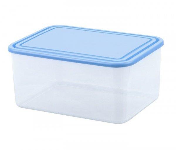 Pojemnik do przechowywania żywności prostokątny 4L niebieski