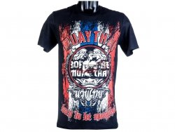T-shirt męski MT-8012 Born to be Muay Thai
