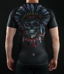 Rashguard męski INDIAN SKULL Ground Game