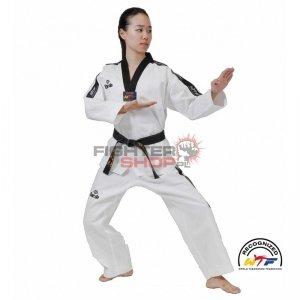 Dobok WTF Competition Czarna Plisa 210 cm Dae Do