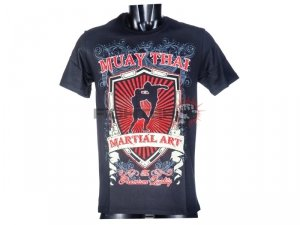 T-shirt męski HIGH KICK Born to be Muay Thai