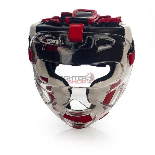 Kask z maską Professional Fighter