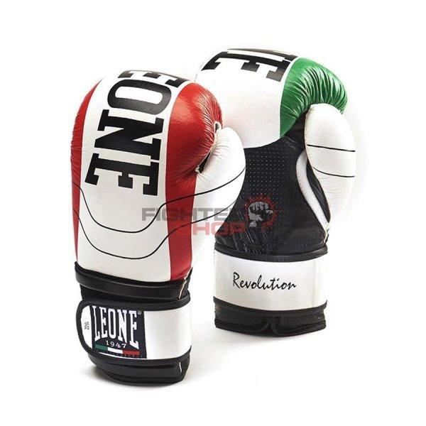 Rękawice bokserskie sznurowane REVOLUTION Leone