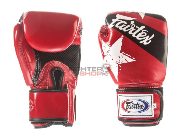Rękawice bokserskie BGV1-N NATION PRINT Fairtex