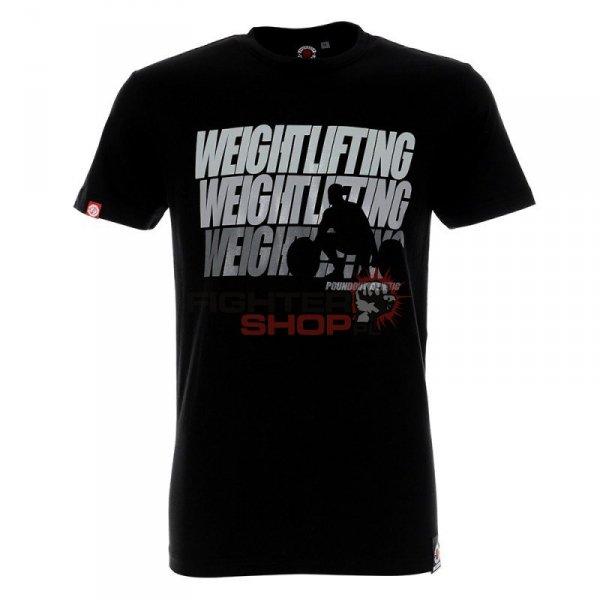 T-shirt męski WEIGHTLIFTING Poundout