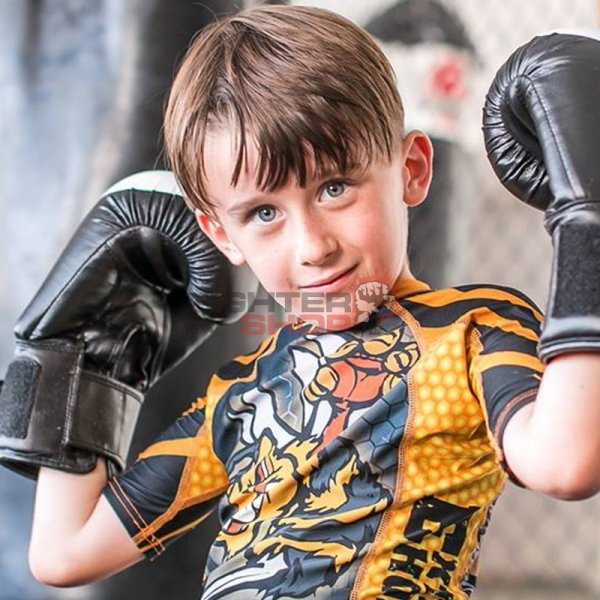 Spodenki MMA KIDS ANGRY WASP Extreme Hobby
