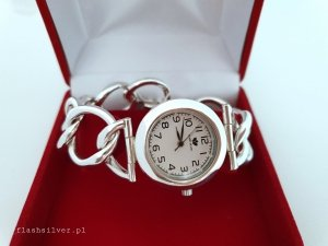 Zegarek ze srebra kod 47