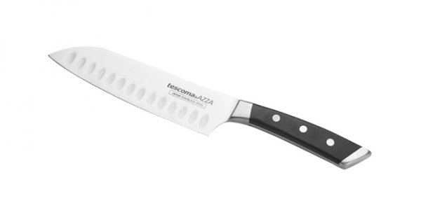 Nóż japoński AZZA SANTOKU 14 cm Tescoma