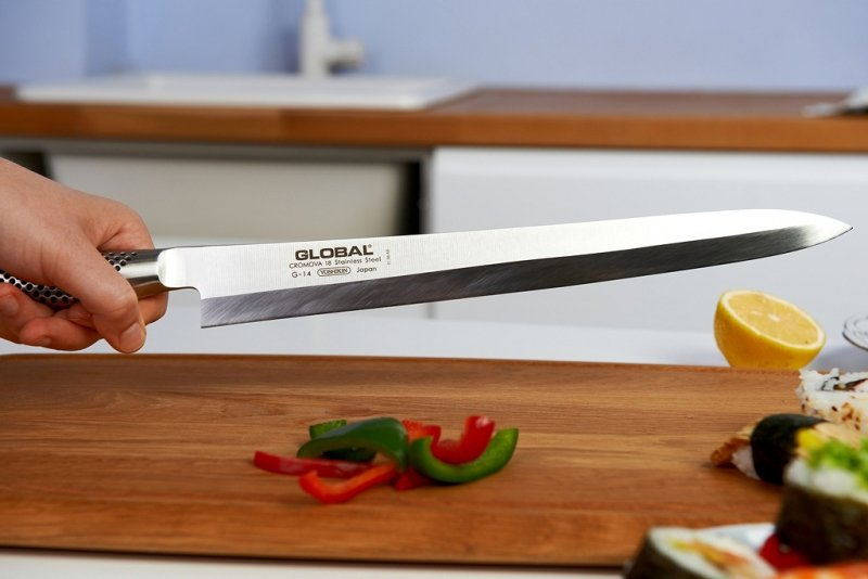 Nóż Yanagi Sashimi 30 cm (praworęczny) Global G-14R