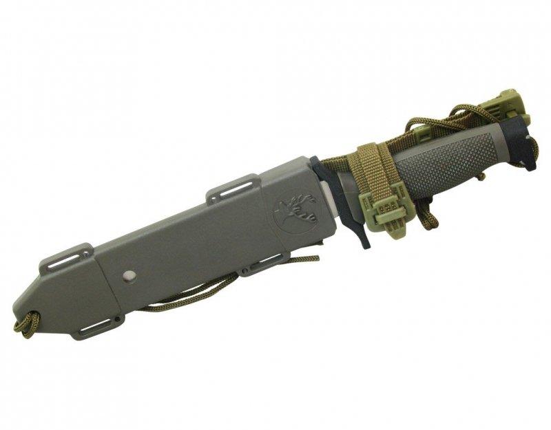 Nóż Master Cutlery Survival Silver (HK-6001S)