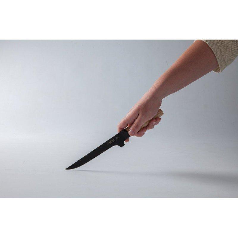 Nóż do trybowania 15 cm RON (drewno) Berghoff