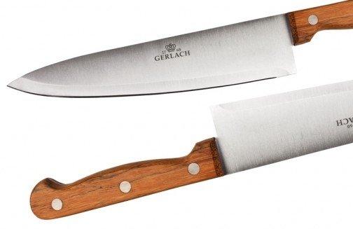 Gerlach 959A Country - komplet noży kuchennych (5 szt.) w bloku