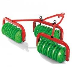 Rolly Toys Brona talerzowa Walec Cambrigde Przyczepa do traktora