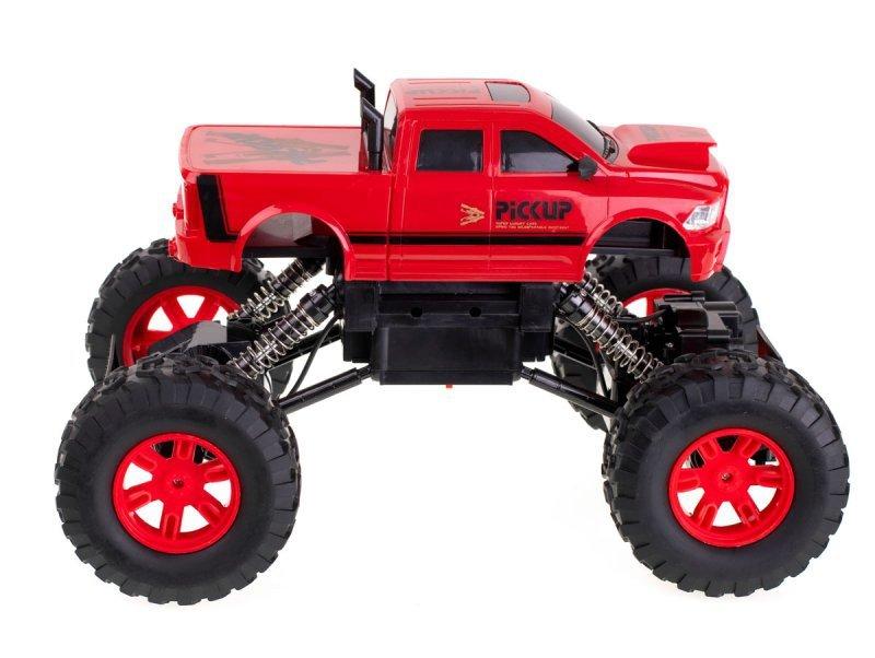 Samochód RC Rock Crawler 4WD czerwony 2.4GHz