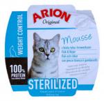 Arion Cat Original Sterilized 70g mousse