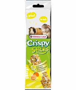 Versele Laga Crispy Sticks Guinea Pigs - Chinchillas - Kolba cytrusowa dla świnek morskich i szynszyli