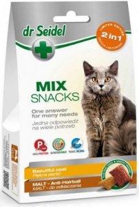 Dr Seidel Smakołyki dla kotów sierść & malt 60g