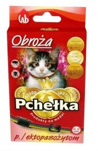 Pchełka Obroża p/ektopasożytom 30cm dla kota