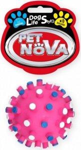 Pet Nova Piłka jeż z wypustkami 7cm, różowa