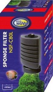 Aqua Nova NSF-C80L Filtr gąbkowy akwarium 80L