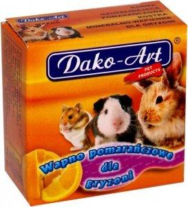 Dako-Art Wapno pomarańcz dla gryznoni 1szt