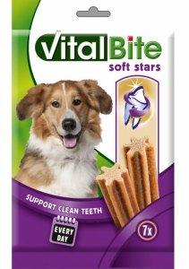 VitalBiteDog Snack Soft Stars Dentals 180g