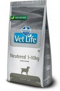 Vet Life Dog 2462 2kg Neutered +10
