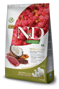 ND Dog NG Adult Quinoa 800g Skin&Coat Duck