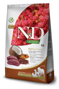 ND Dog NG Adult Quinoa 800g Skin&Coat Venison