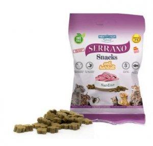 Serrano Snack Cat 50g Sardynka Hairball