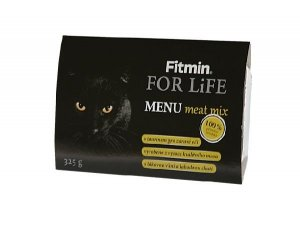 Fitmin For Life Menu meat 325g dla kota