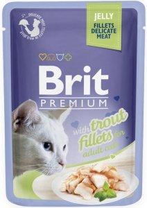 Brit Premium Cat 85g Pstrąg galaretka sasz