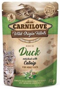 Carnilove Cat Pouch Duck & Catnip 85g