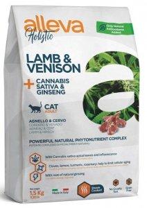 Alleva Holistic Cat Adult Lamb &Venison 1,5kg
