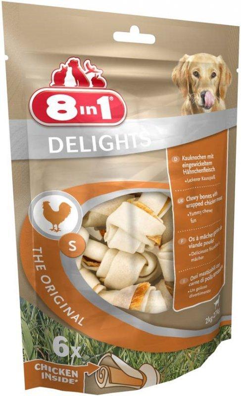 8in1 Przysmak Delights Bones S- 6szt