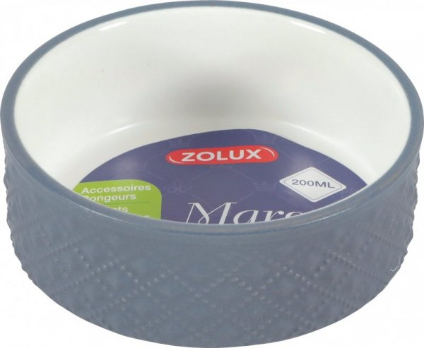 Zolux Miska gres dla gryzoni MARGOT 200ml szara