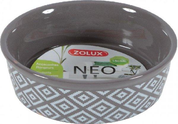 Zolux Miska gres dla gryzoni NEO 150ml kolor szary