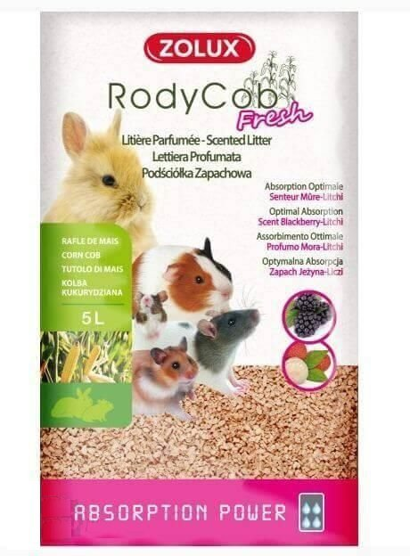 Zolux Podściółka  Rody'Cob Fresh jeżyna 5L
