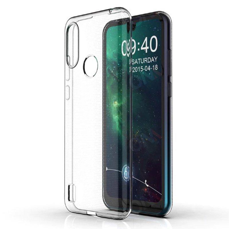 Futerał Back Case Ultra Slim 0,5mm do MOTOROLA E6i