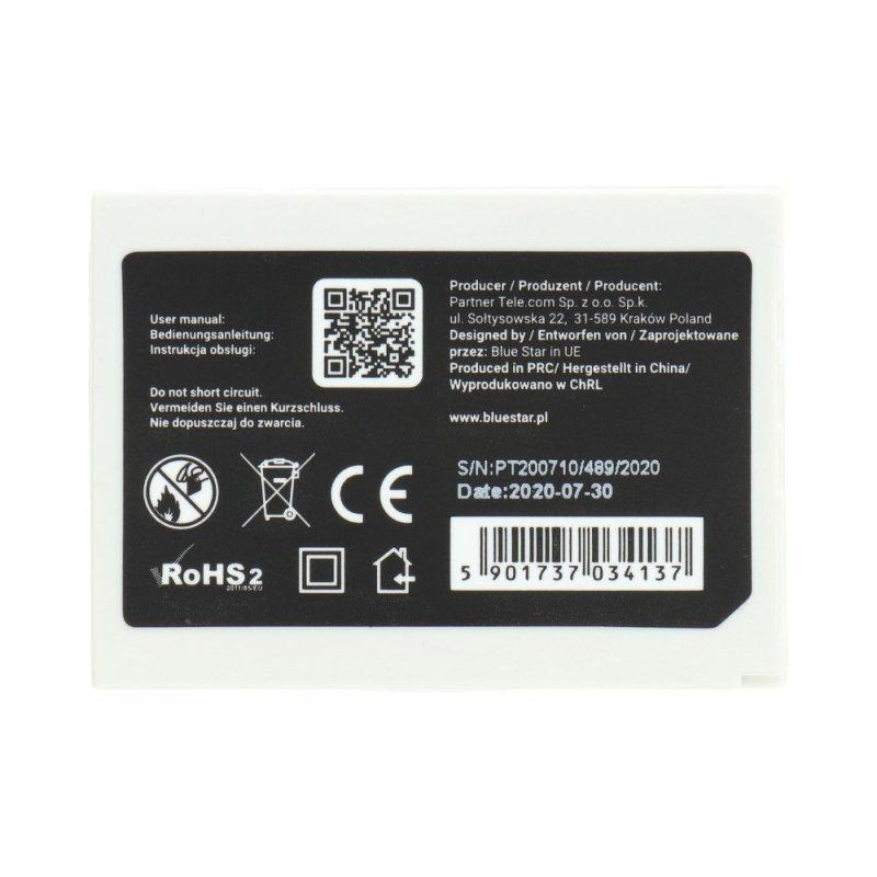 Bateria do Nokia 3310/3510 1400 mAh Li-Ion Slim Blue Star PREMIUM