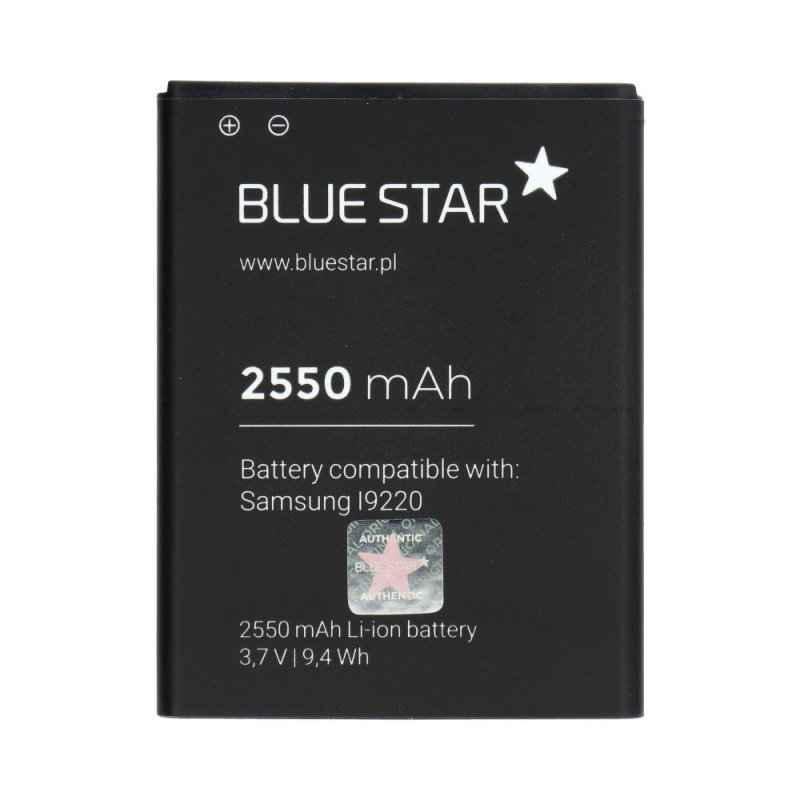 Bateria do Samsung N7000 Galaxy Note (I9220) 2550 mAh Li-Ion Blue Star PREMIUM