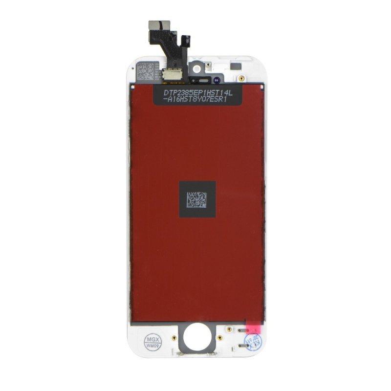 Wyświetlacz do iPhone 5 z ekranem dotykowym białym HQ