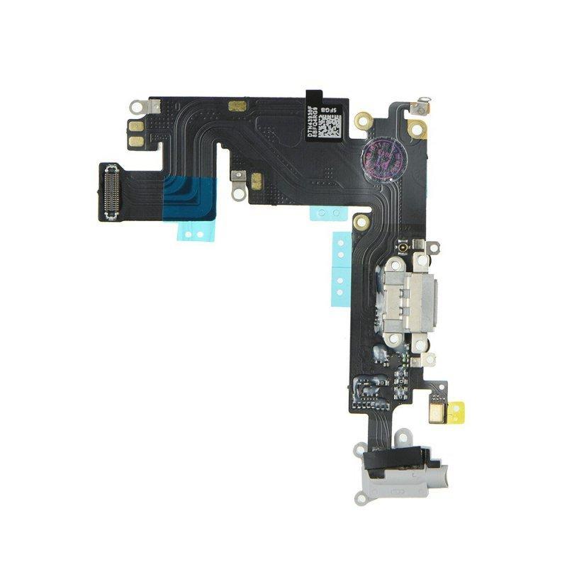 """Taśma do IPHONE 6 PLUS 5,5"""" ze złączem ładowania i gniazdem HF czarny"""