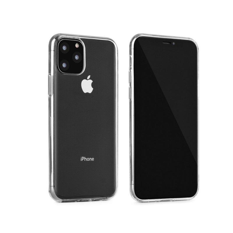 "Futerał Back Case Ultra Slim 0,3mm do IPHONE 11 2019 ( 6,1"" ) transparent"