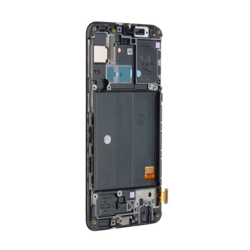 Wyświetlacz bez ramki OLED do Samsung A40