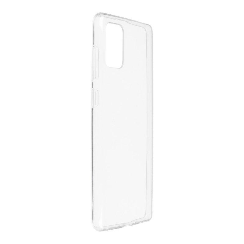 Futerał Back Case Ultra Slim 0,3mm do SAMSUNG Galaxy A71 transparent
