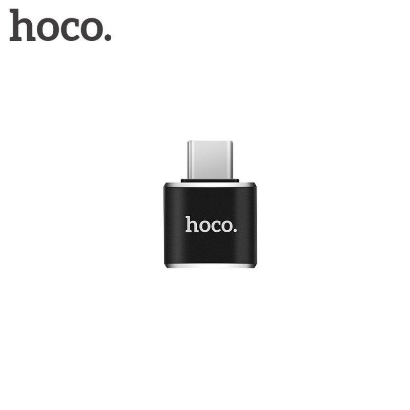 HOCO adapter OTG Typ C do USB A UA5 czarny