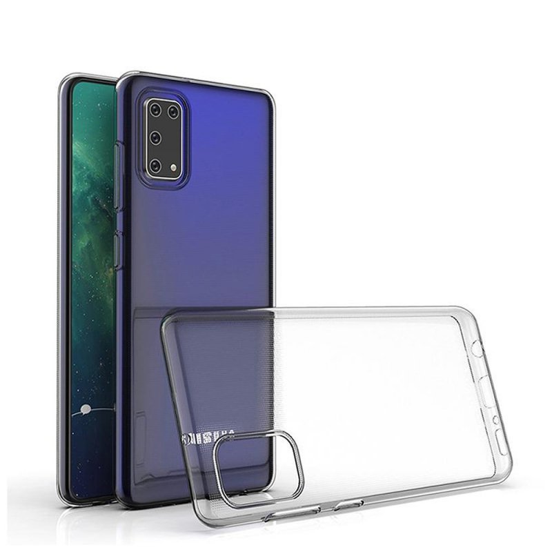 Futerał Back Case Ultra Slim 0,3mm do SAMSUNG Galaxy A41 transparent