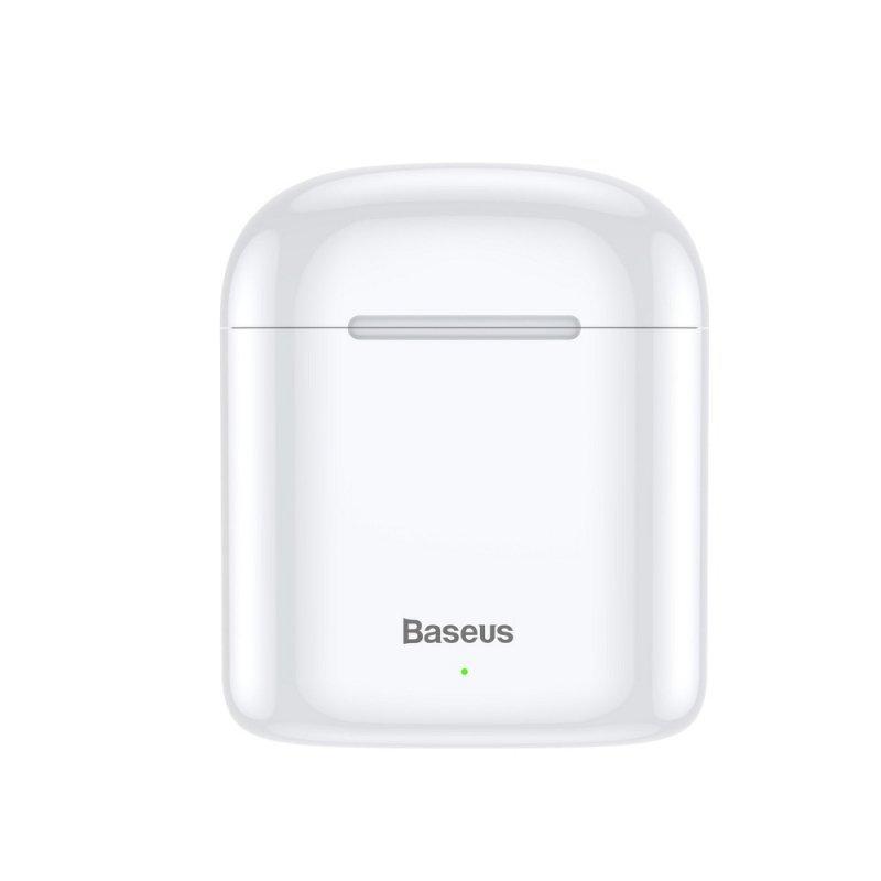 BASEUS zestaw słuchawkowy / słuchawki bluetooth TWS Encok True W09 białe NGW09-02